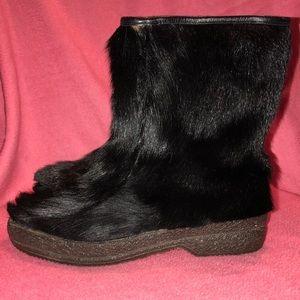 Humanic Polaris Fur Shearling Boots